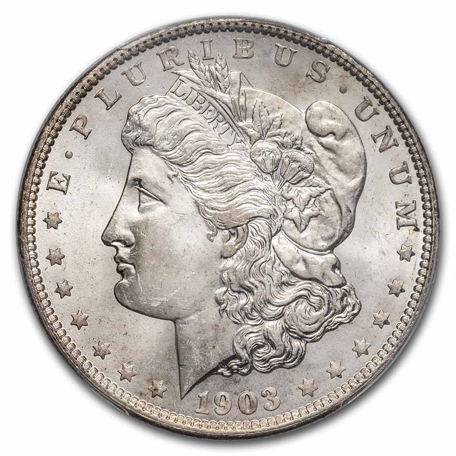 1903-O Morgan Dollar MS-64 PCGS